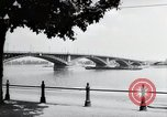 Image of bridge Mainz Germany, 1954, second 8 stock footage video 65675031786