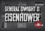 Image of Dwight David Eisenhower United States USA, 1951, second 9 stock footage video 65675031852