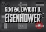 Image of Dwight David Eisenhower United States USA, 1951, second 12 stock footage video 65675031852