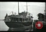 Image of tourists at restaurants West Palm Beach Florida USA, 1936, second 5 stock footage video 65675031877