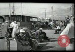 Image of tourists at restaurants West Palm Beach Florida USA, 1936, second 10 stock footage video 65675031877