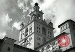 Image of Hotel buildings Coral Gables section of Miami Florida USA, 1936, second 1 stock footage video 65675031882