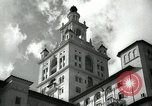 Image of Hotel buildings Coral Gables section of Miami Florida USA, 1936, second 6 stock footage video 65675031882