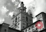 Image of Hotel buildings Coral Gables section of Miami Florida USA, 1936, second 10 stock footage video 65675031882