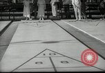 Image of shuffleboard Miami Florida USA, 1936, second 4 stock footage video 65675031884