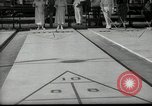 Image of shuffleboard Miami Florida USA, 1936, second 5 stock footage video 65675031884
