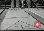Image of shuffleboard Miami Florida USA, 1936, second 7 stock footage video 65675031884