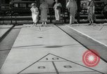Image of shuffleboard Miami Florida USA, 1936, second 10 stock footage video 65675031884
