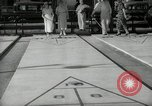 Image of shuffleboard Miami Florida USA, 1936, second 11 stock footage video 65675031884