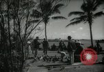 Image of tourists in Miami Beach Miami Florida USA, 1936, second 2 stock footage video 65675031892