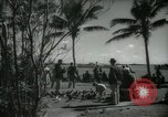 Image of tourists in Miami Beach Miami Florida USA, 1936, second 3 stock footage video 65675031892