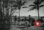Image of tourists in Miami Beach Miami Florida USA, 1936, second 4 stock footage video 65675031892