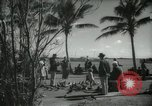 Image of tourists in Miami Beach Miami Florida USA, 1936, second 5 stock footage video 65675031892