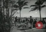 Image of tourists in Miami Beach Miami Florida USA, 1936, second 9 stock footage video 65675031892