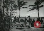 Image of tourists in Miami Beach Miami Florida USA, 1936, second 11 stock footage video 65675031892