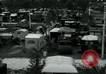 Image of trailer camp Miami Florida USA, 1936, second 11 stock footage video 65675031898