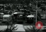 Image of trailer camp Miami Florida USA, 1936, second 12 stock footage video 65675031898