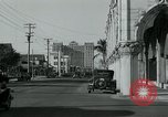 Image of tourists Miami Florida USA, 1936, second 4 stock footage video 65675031909