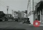 Image of tourists Miami Florida USA, 1936, second 7 stock footage video 65675031909