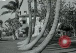 Image of Tourists Miami Florida USA, 1936, second 1 stock footage video 65675031912