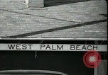 Image of tourists West Palm Beach Florida USA, 1936, second 4 stock footage video 65675031916