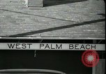 Image of tourists West Palm Beach Florida USA, 1936, second 5 stock footage video 65675031916