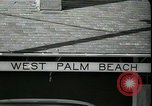 Image of tourists West Palm Beach Florida USA, 1936, second 7 stock footage video 65675031916