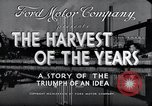 Image of Ford Motor Company Dearborn Michigan USA, 1938, second 10 stock footage video 65675031926