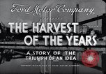 Image of Ford Motor Company Dearborn Michigan USA, 1938, second 11 stock footage video 65675031926
