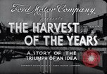 Image of Ford Motor Company Dearborn Michigan USA, 1938, second 12 stock footage video 65675031926