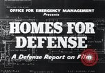 Image of Homes For Defense United States USA, 1941, second 8 stock footage video 65675031935
