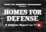 Image of Homes For Defense United States USA, 1941, second 9 stock footage video 65675031935