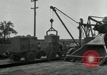 Image of Road construction United States USA, 1930, second 5 stock footage video 65675031956