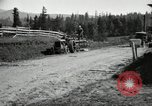 Image of tractor drawn road grader United States USA, 1930, second 8 stock footage video 65675031958