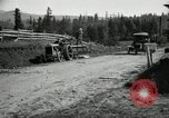 Image of tractor drawn road grader United States USA, 1930, second 12 stock footage video 65675031958