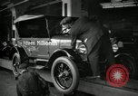 Image of Model T Fifteen Millionth car Dearborn Michigan USA, 1927, second 2 stock footage video 65675031960