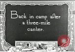 Image of camping party Maryland United States USA, 1921, second 2 stock footage video 65675031991