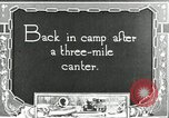 Image of camping party Maryland United States USA, 1921, second 3 stock footage video 65675031991