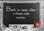 Image of camping party Maryland United States USA, 1921, second 7 stock footage video 65675031991