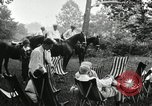 Image of camping party Maryland United States USA, 1921, second 9 stock footage video 65675031991
