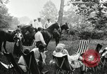 Image of camping party Maryland United States USA, 1921, second 10 stock footage video 65675031991