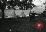 Image of group camping Maryland United States USA, 1921, second 6 stock footage video 65675031997