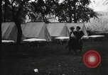 Image of group camping Maryland United States USA, 1921, second 8 stock footage video 65675031997