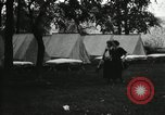 Image of group camping Maryland United States USA, 1921, second 9 stock footage video 65675031997