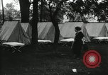 Image of group camping Maryland United States USA, 1921, second 12 stock footage video 65675031997