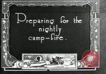 Image of group camping Maryland United States USA, 1921, second 1 stock footage video 65675032005