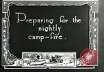 Image of group camping Maryland United States USA, 1921, second 4 stock footage video 65675032005