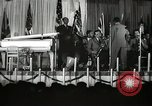 Image of Count Basie and Orchestra at Paul Robeson birthday party New York City, 1944, second 11 stock footage video 65675032041