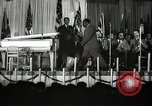 Image of Count Basie and Orchestra at Paul Robeson birthday party New York City, 1944, second 12 stock footage video 65675032041
