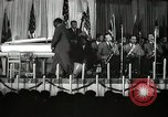 Image of Count Basie and Orchestra at Paul Robeson birthday party New York City, 1944, second 13 stock footage video 65675032041